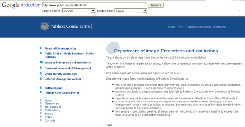 Publicis Consultants