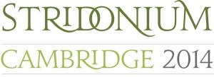 Stridonium Conference - Cambridge- March 2014